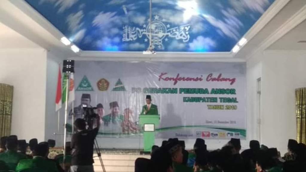 GP Ansor Kabupaten Tegal Harus Responsif Terhadap Teknologi, GP Ansor