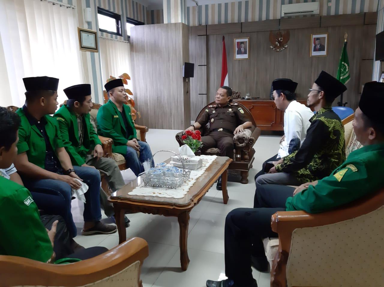 Audensi Kajari, Ansor Diminta Tangkal Paham Radikal di Kabupaten Tegal, GP Ansor