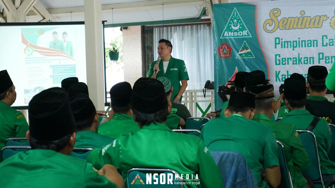 Seminar Ekonomi Kreatif Bangun Kemandirian Kader Ansor, GP Ansor