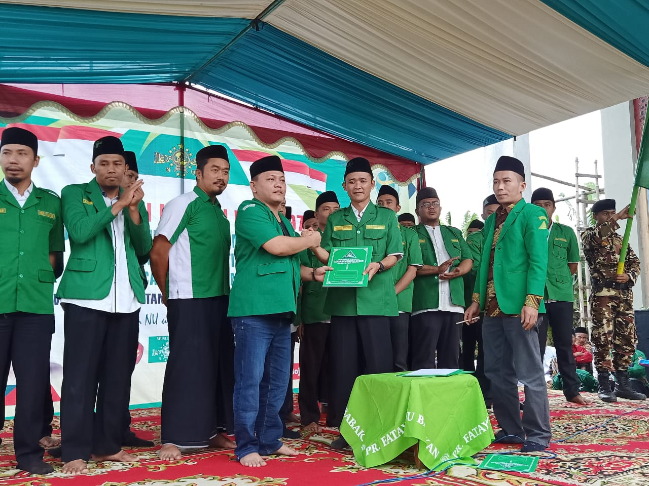 Resmi Dilantik, Ansor Bojong Diingatkan Tugas dan Tanggung jawab, GP Ansor
