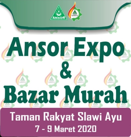 Ansor Expo Meriahkan Pelantikan PC Ansor Kabupaten Tegal, GP Ansor