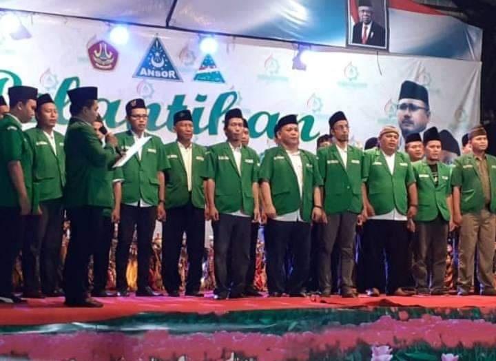 Resmi Dilantik, Ansor Tegal Diminta Ikuti Andil Kurangi Kaum Rebahan, GP Ansor