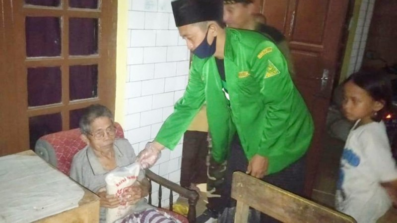 Ansor Tembok Lor Adiwerna Peduli Covid-19, GP Ansor