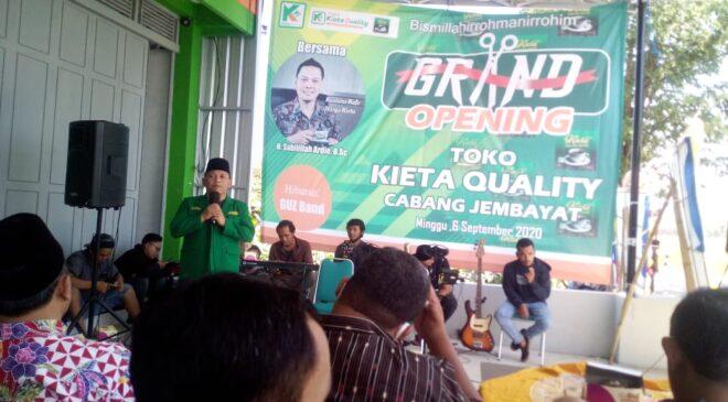Serius Garap Ekonomi, PC GP Ansor Kab. Tegal Launching Toko Kieta Quality, GP Ansor