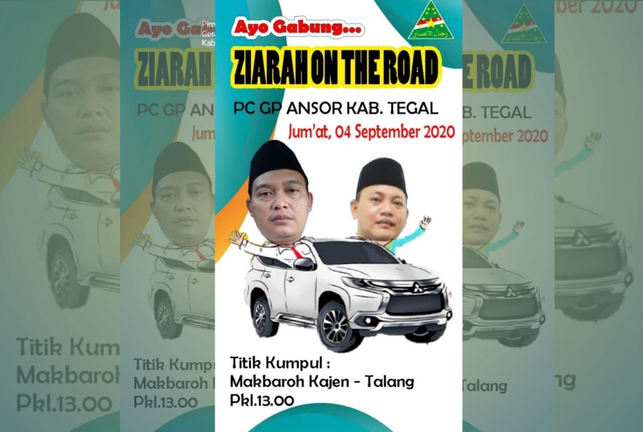 Hari ini Perdana Ziarah On The Road Rijalul Ansor, GP Ansor