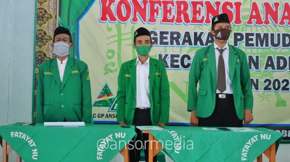 Abdul Aziz Kembali Pimpin Ansor Adiwerna, GP Ansor