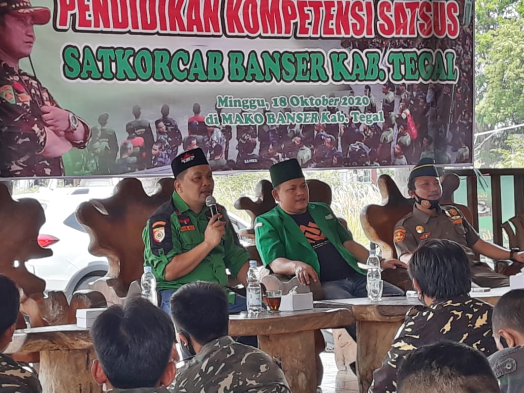 Satkornas : Banser Harus Jadi Pioneer Program Ansor – NU, GP Ansor