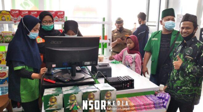 PC GP Ansor Tegal Launching Toko Kieta Cabang Tarub, GP Ansor