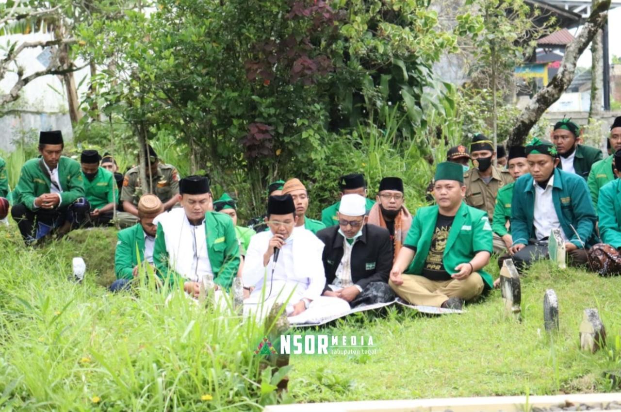 Merawat Tradisi, Rijalul Ansor Tegal Ziarahi Tokoh NU Bumijawa, GP Ansor