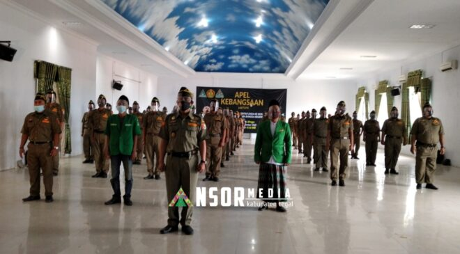 Apel Kebangsaan Virtual, Ansor Tegaskan Kabupaten Tegal Tidak Ada Provokasi Kebangsaan, GP Ansor