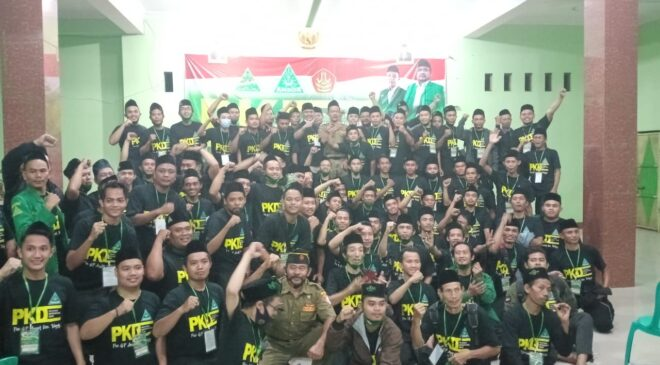 Cetak Kader Handal dan Berkarakter, PAC Talang Gelar PKD., GP Ansor