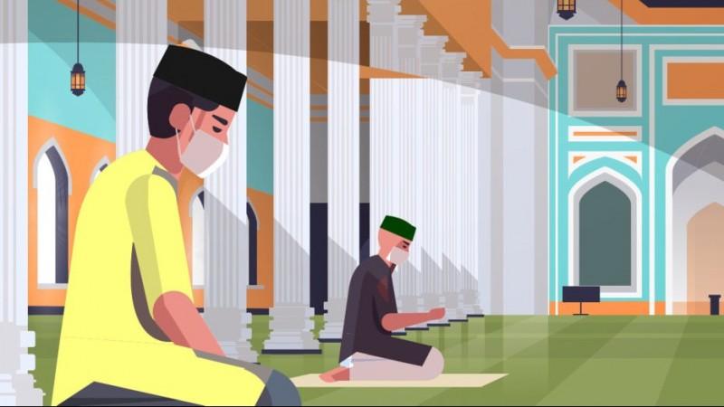 Khutbah Jum'at : 4 Pelajaran Dibalik Protokol Kesehatan, GP Ansor