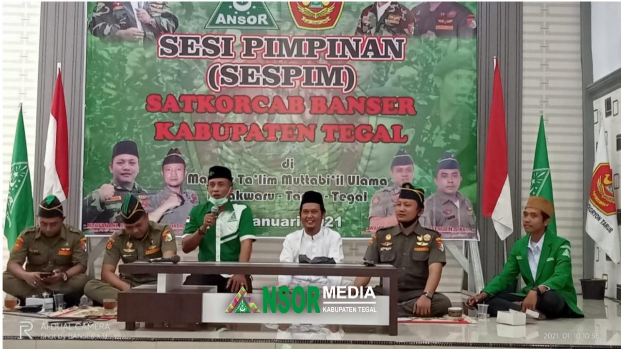 Satkornas Banser Sebut Kerja Sama dan Disiplin Prinsip Utama Organisasi, GP Ansor