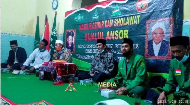 Peringati Harlah NU 95, Ansor Dukuhwaru Istighotsah dan Manakiban, GP Ansor