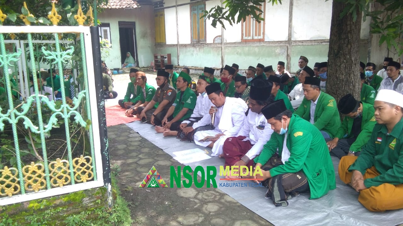 Ngalap Barokah, Ziarah On The Road Putaran Tiga Doakan Tokoh NU Suradadi, GP Ansor