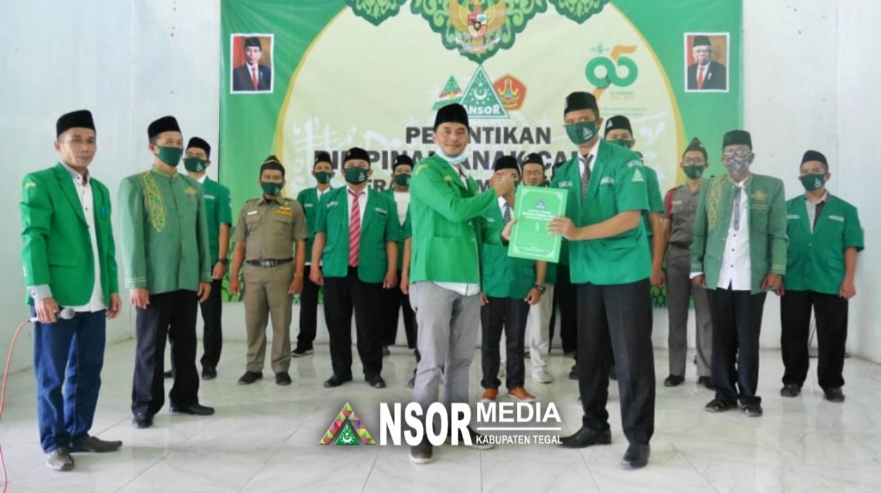 Resmi Dilantik, Ansor Adiwerna Diminta Lakukan Pergerakan Nyata, GP Ansor