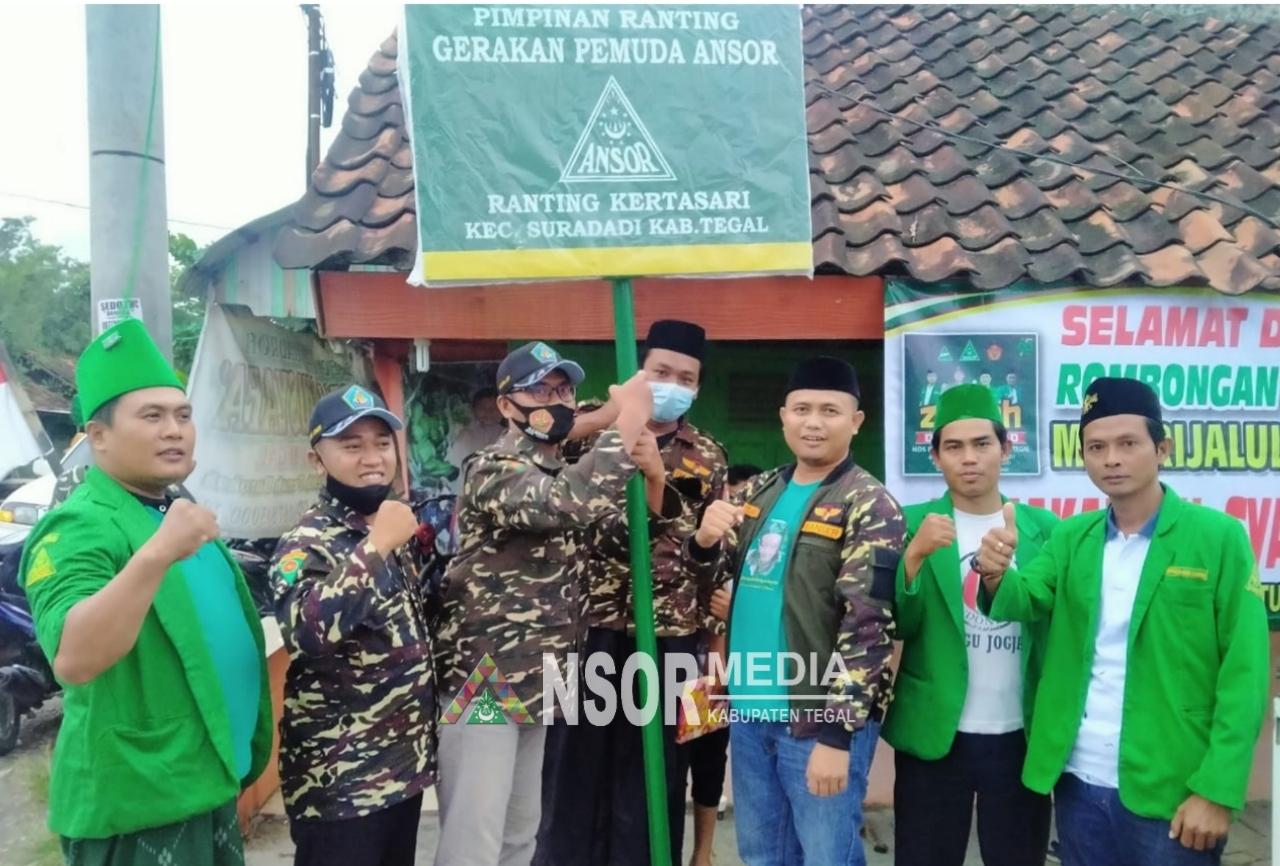 Plangisasi Organisasi, Cara Ansor Suradadi Tingkatkan Ghiroh Ber Ansor, GP Ansor