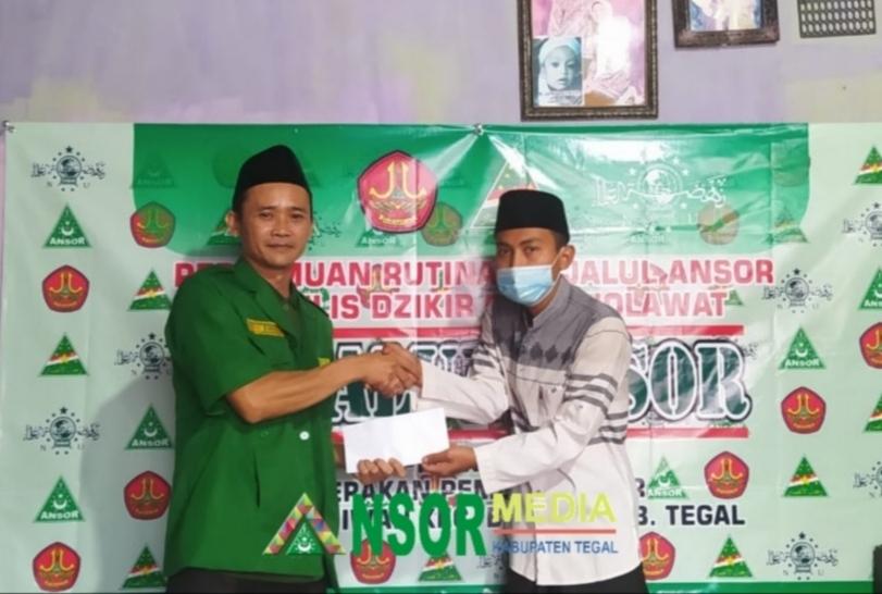 Peduli Bencana, Ansor Bojong Salurkan Bantuan Korban Puting Beliung, GP Ansor
