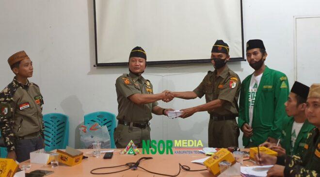 Keluarga H Nurohman Nasori Salurkan Sedekah 1000 Banser Tegal, GP Ansor