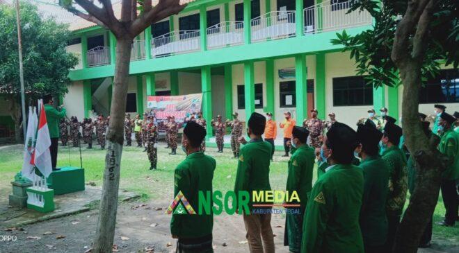 Songsong Konferancab, Ansor Dukuhwaru Ziarah Sesepuh dan Apel Kebangsaan, GP Ansor