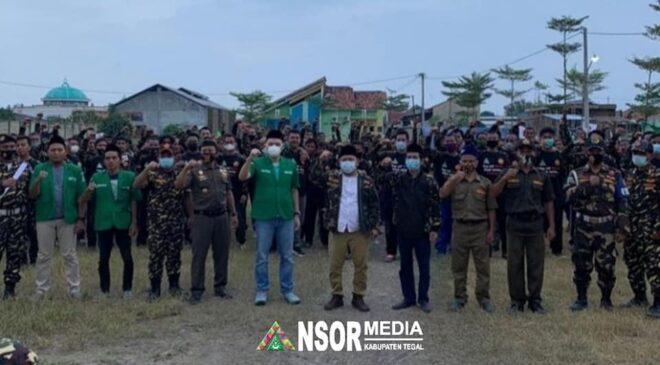Istimewa, Dua Habaib dan Sejumlah Gus Ikuti Diklatsar Banser Talang, GP Ansor