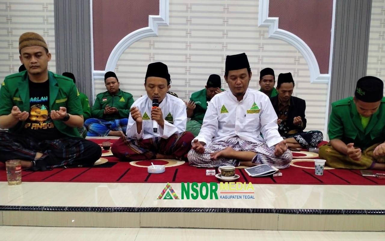Rijalul Ansor Kab. Tegal Gelar Doa Bersama untuk kesembuhan Bupati Tegal, GP Ansor