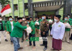GP Ansor Salurkan 3000 Paket Sembako untuk Kader dan Masyarakat Terdampak PPKM