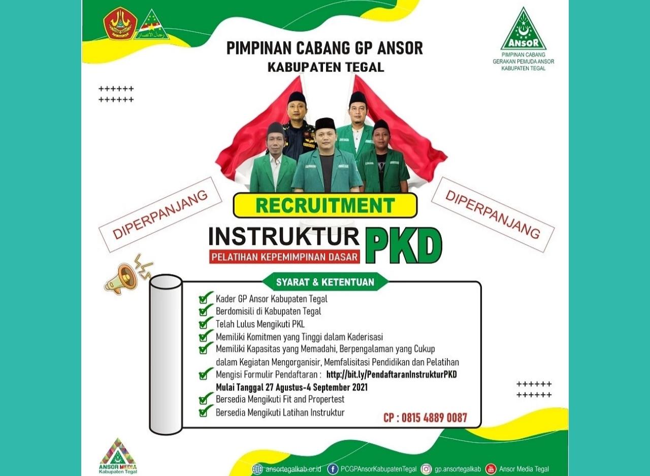 PC Ansor Buka Pendaftaran Tim Instruktur Cabang, GP Ansor