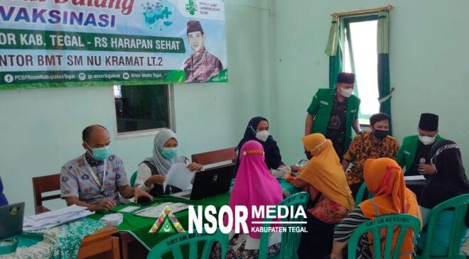 Ansor Tegal Sebut Vaksinasi Untuk Percepat Herd Immunity, GP Ansor