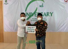GP Ansor Terima Bantuan CSR dari RS Harapan Sehat Slawi