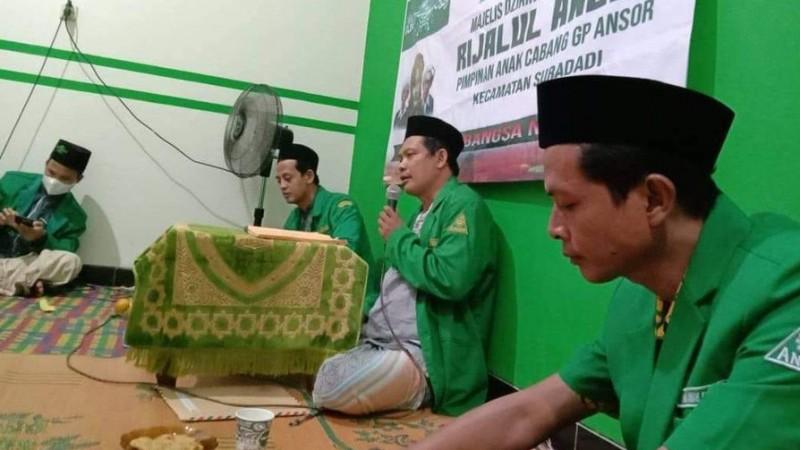"""Majlis Dzikir Rijalul Ansor Suradadi Mulai Gelar Rutin """"Ngabarin"""", GP Ansor"""