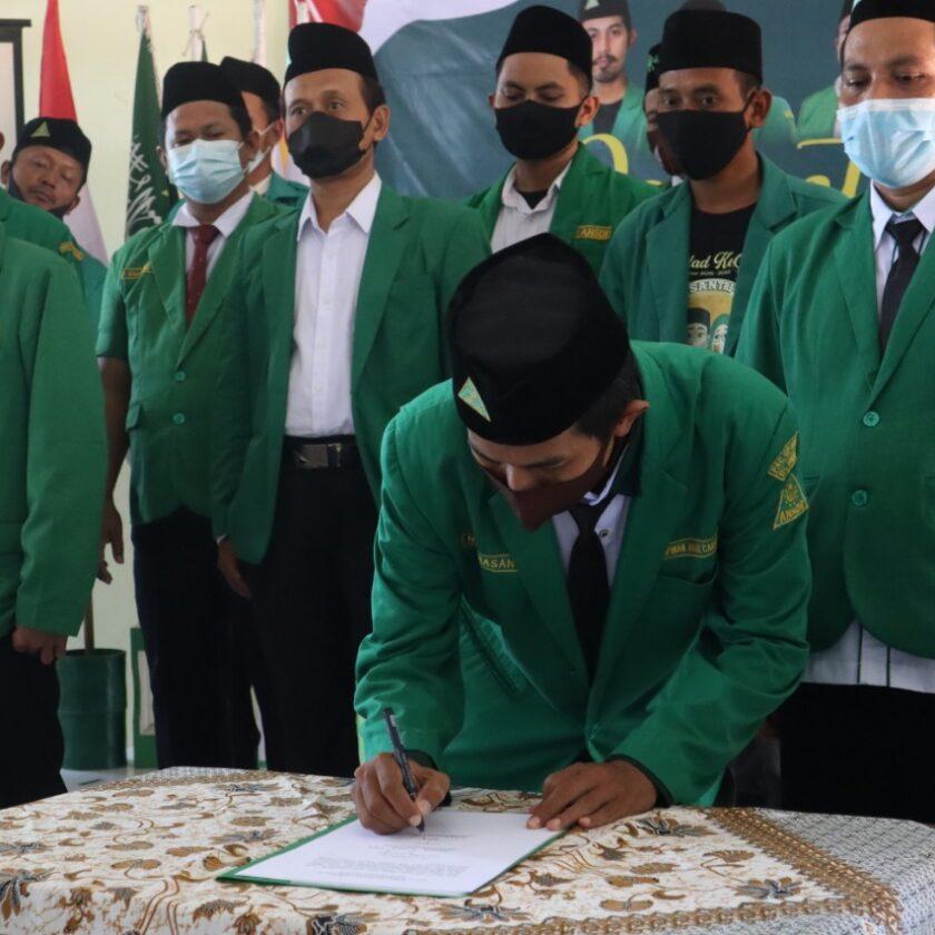 Pengurus PAC GP Ansor Dukuhwaru Periode 2021 – 2023 Dilantik, GP Ansor