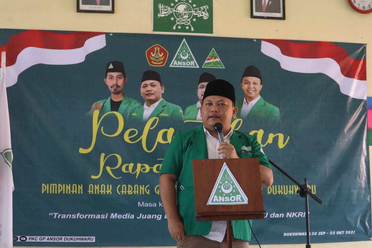Ansor Tegal Klarifikasi Beredarnya Foto Menggunakan Atribut Banser di Acara Ziarah TMP Kalibakung, GP Ansor